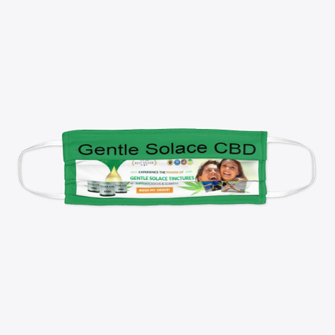 Gentle Solace Cbd Oil Reviews, Benefits! Green T-Shirt Flat