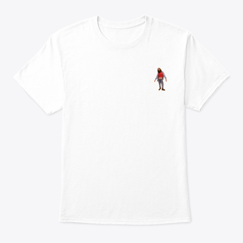 Tasteful Jeremy T Shirt White T-Shirt Front