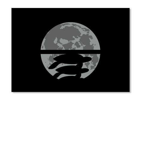 Flat Earth Eclipse 2 Sticker [Usa] #Sfsf Black Sticker Front