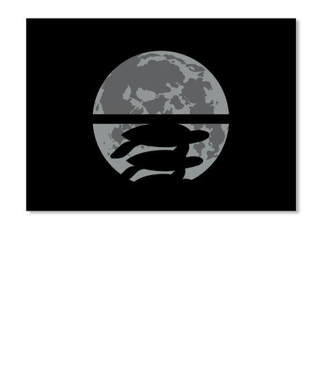 Flat Earth Eclipse 2 Sticker [Usa] #Sfsf Black Sticker Front