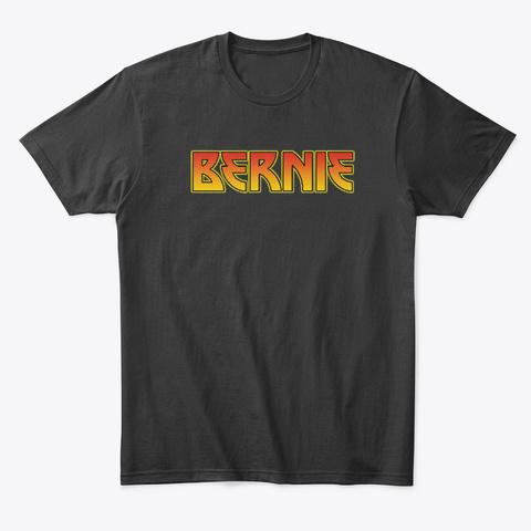 Bernie Sanders Shirt 2020 Retro Edge Black T-Shirt Front