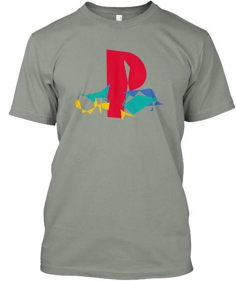 Ƥℓe¥StΔt|⬤N Grey T-Shirt Front