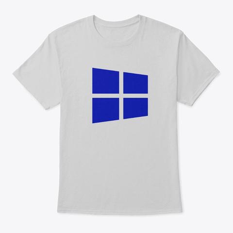 Win10 Blue Light Steel T-Shirt Front