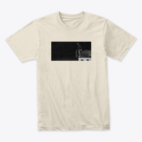 Poison Skate Tee Cream T-Shirt Front