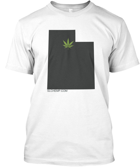 Slchemp.Com White T-Shirt Front