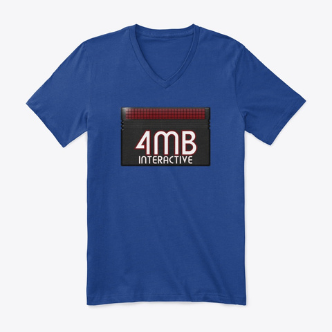 4 Mb Interactive Logo Collection True Royal T-Shirt Front