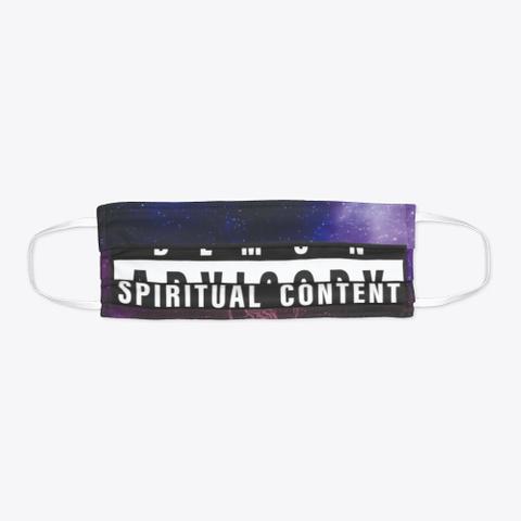 Covid 19 Spiritual Content Mask  Standard T-Shirt Flat