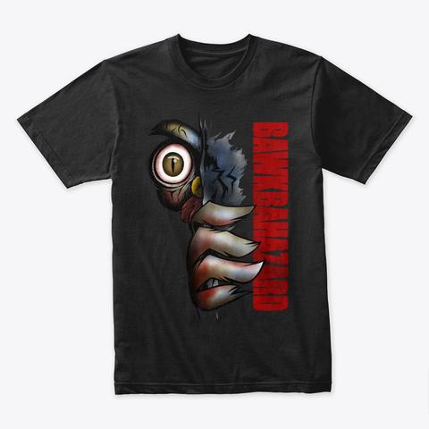 Bawkbahazard Black T-Shirt Front