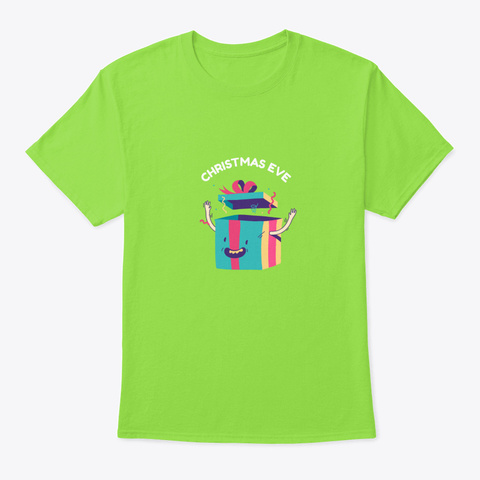 Christmas Gift Lime T-Shirt Front