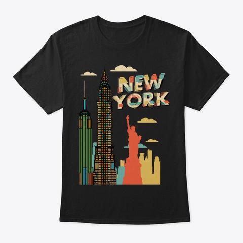 80S Retro New York City Skyline Nyc Unisex Tshirt