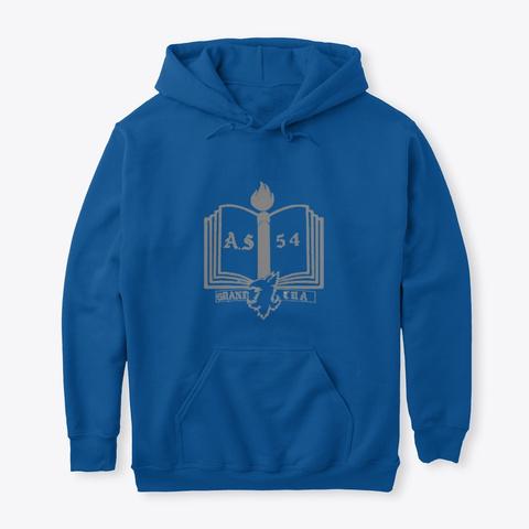Tua Fundraiser Royal Sweatshirt Front