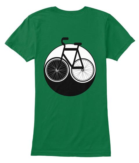 Bicycle Yin Yang Kelly T-Shirt Back