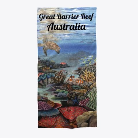 Great Barrier Reef Australia  Standard T-Shirt Front
