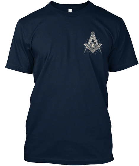 **Limited Edition   Masons** New Navy T-Shirt Front