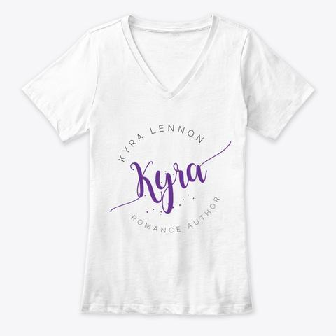 Kyra Lennon Women's T Shirt White T-Shirt Front