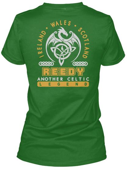 Reedy Another Celtic Thing Shirts Irish Green T-Shirt Back