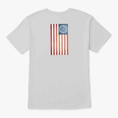 I Love America Clothing Light Steel T-Shirt Back