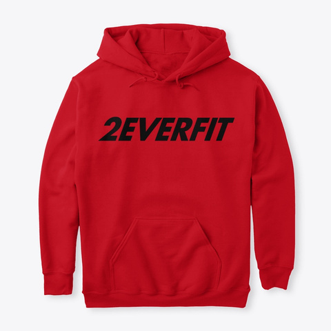 2 Ever Fit #3 Fire Red Camiseta Front