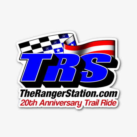 Trs 20th Anniversary Trail Ride Decal Standard T-Shirt Front