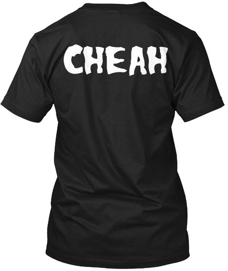 American Arson Tee   Cheah Back Black T-Shirt Back