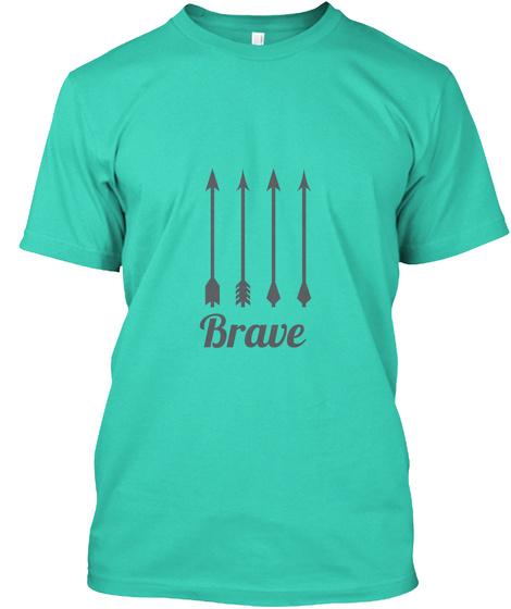 Brave Mint T-Shirt Front