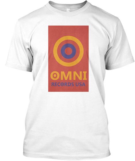 Shirts By Shon   Aclu   Omni White T-Shirt Front
