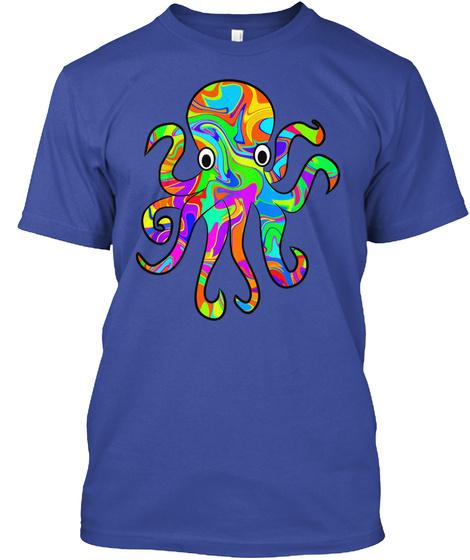 O/I Deep Royal T-Shirt Front