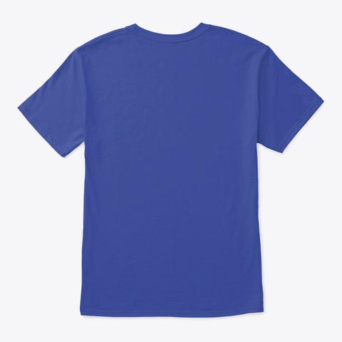 #Dadventures  Deep Royal T-Shirt Back