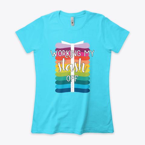 N/A Tahiti Blue  T-Shirt Front