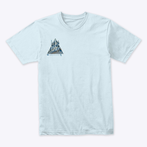 Def Junkie Logo  Light Blue T-Shirt Front