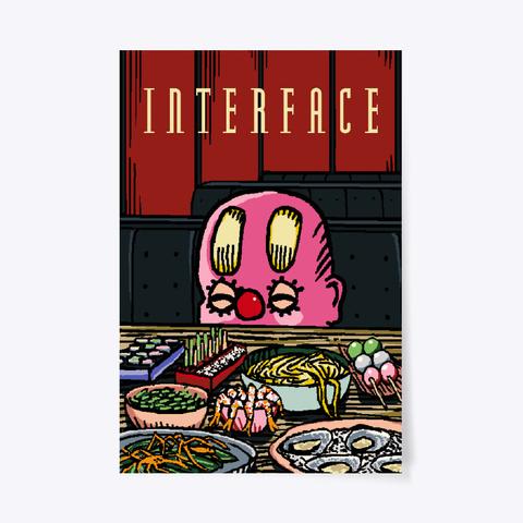 Large Interface Restaurant Poster Standard T-Shirt Front