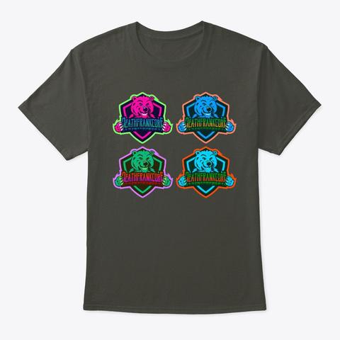 Pop Art Logo Smoke Gray T-Shirt Front
