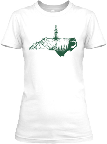 Wmns (Click For More Shirt Colors) White T-Shirt Front