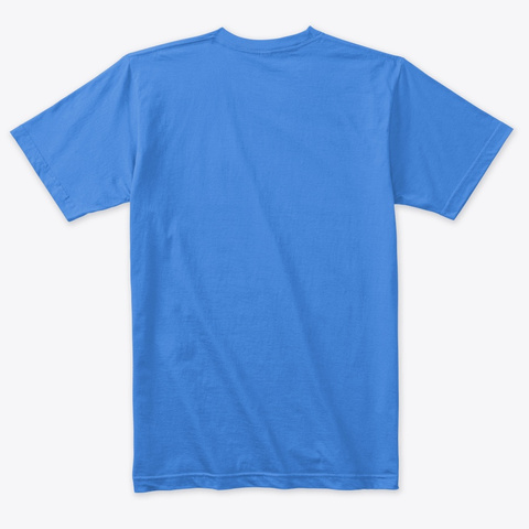 Do The Impossible  Vintage Royal Camiseta Back