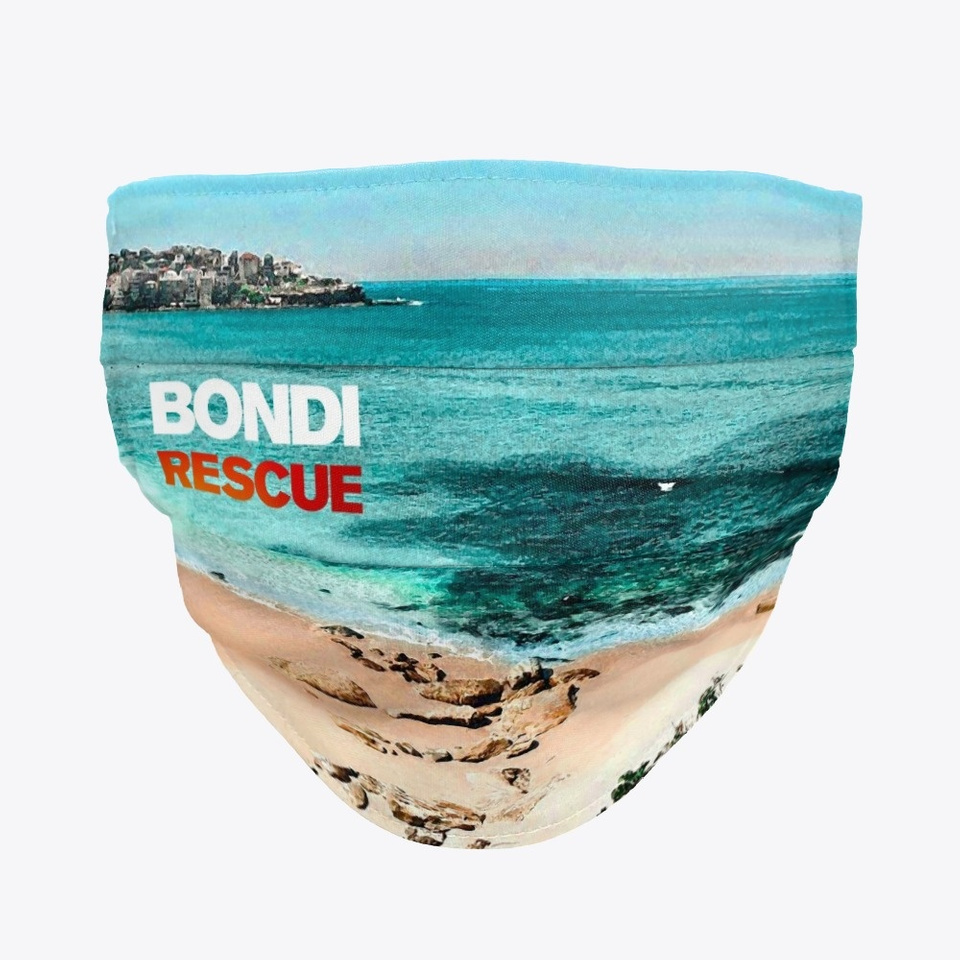 Bondi Rescue Face Mask Products From Bondi Rescue Teespring