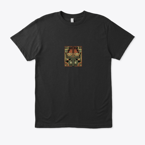 Art Deco  Collectible  Collection  I Black T-Shirt Front