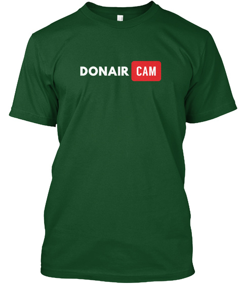 Donair Cam Deep Forest T-Shirt Front