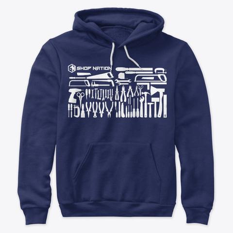 Tool Wall Sweatshirt Navy T-Shirt Front