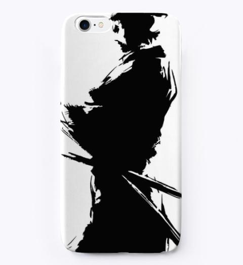 Samurai Silhouette  Phone Case Standard Camiseta Front