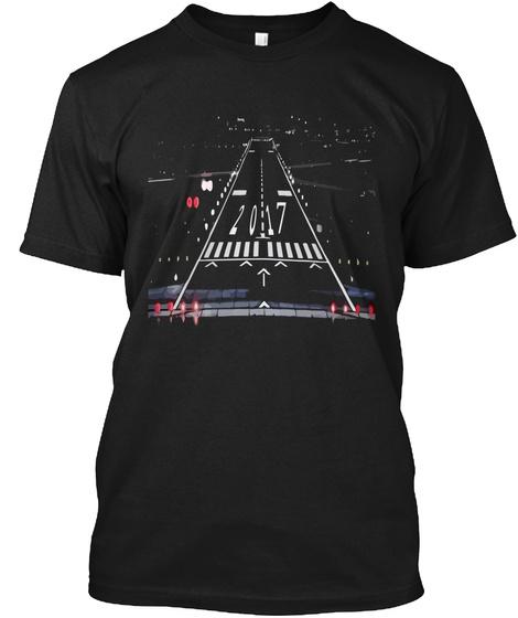 2017 Black T-Shirt Front