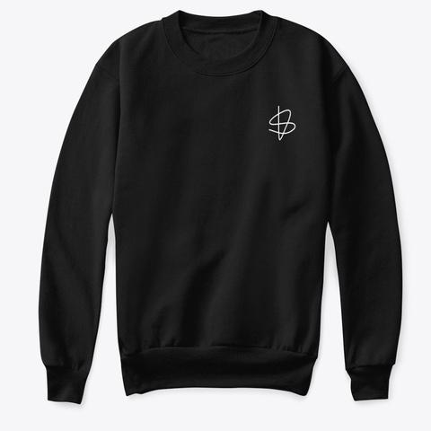 Kids Sweatshirt: Sisu Sign Black T-Shirt Front