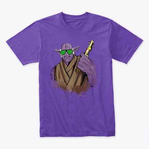 Infinity Force Purple Rush T-Shirt Front