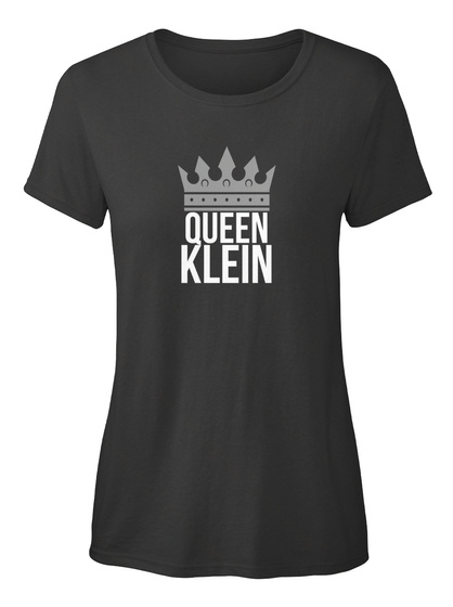 Klein    Simply Queen Klein  Black T-Shirt Front