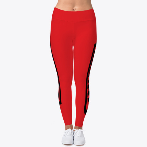 Azgard Leggings Red T-Shirt Front