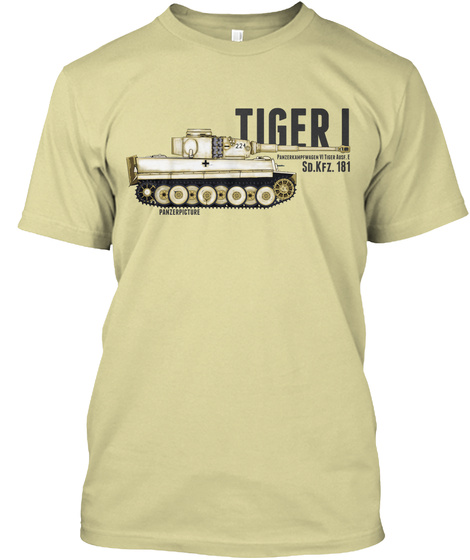 Tiger I Winter Edition Sand T-Shirt Front