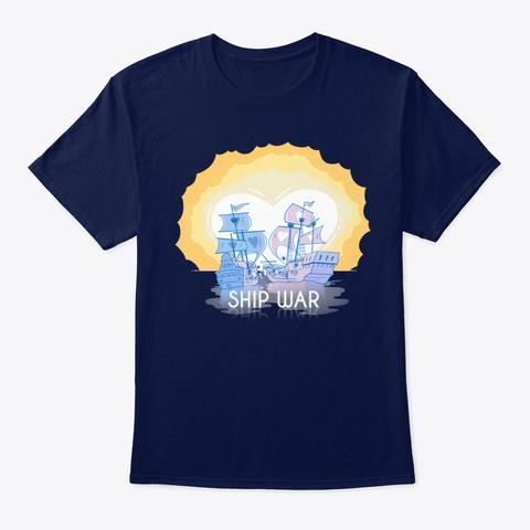 Ship War Navy T-Shirt Front