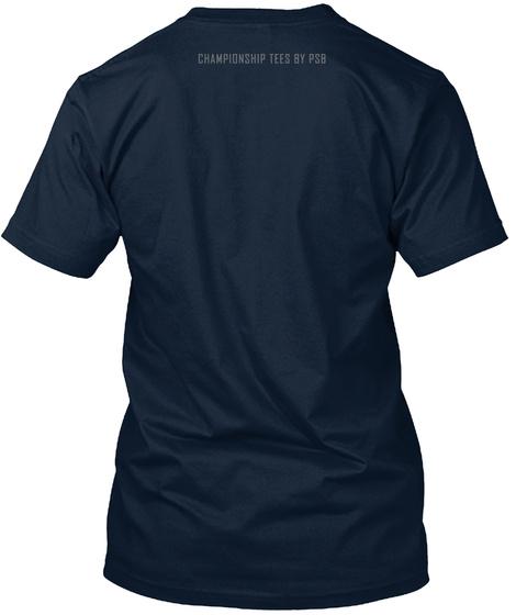 Championship Tees By Psb New Navy T-Shirt Back