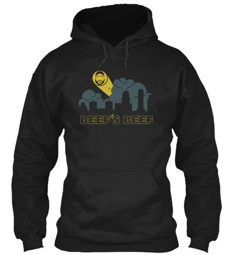 Beef's Beef Black T-Shirt Front