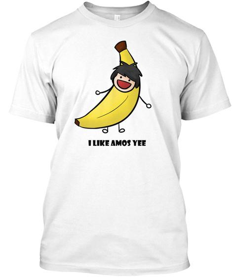 I Like Amos Yee White T-Shirt Front