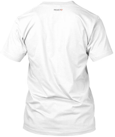 2019 George Na'ope Hula Festival Tee White T-Shirt Back